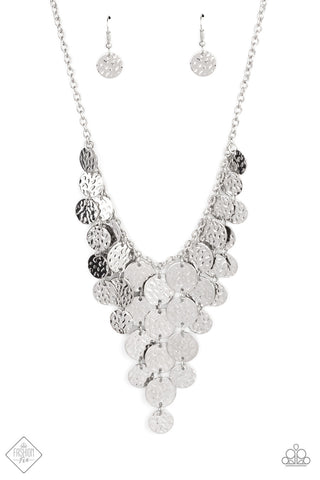 Spotlight Ready - Silver Necklace - Paparazzi Accessories