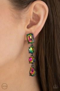 Make A-LIST - Multi Clip- On Earrings - Paparazzi Accessories