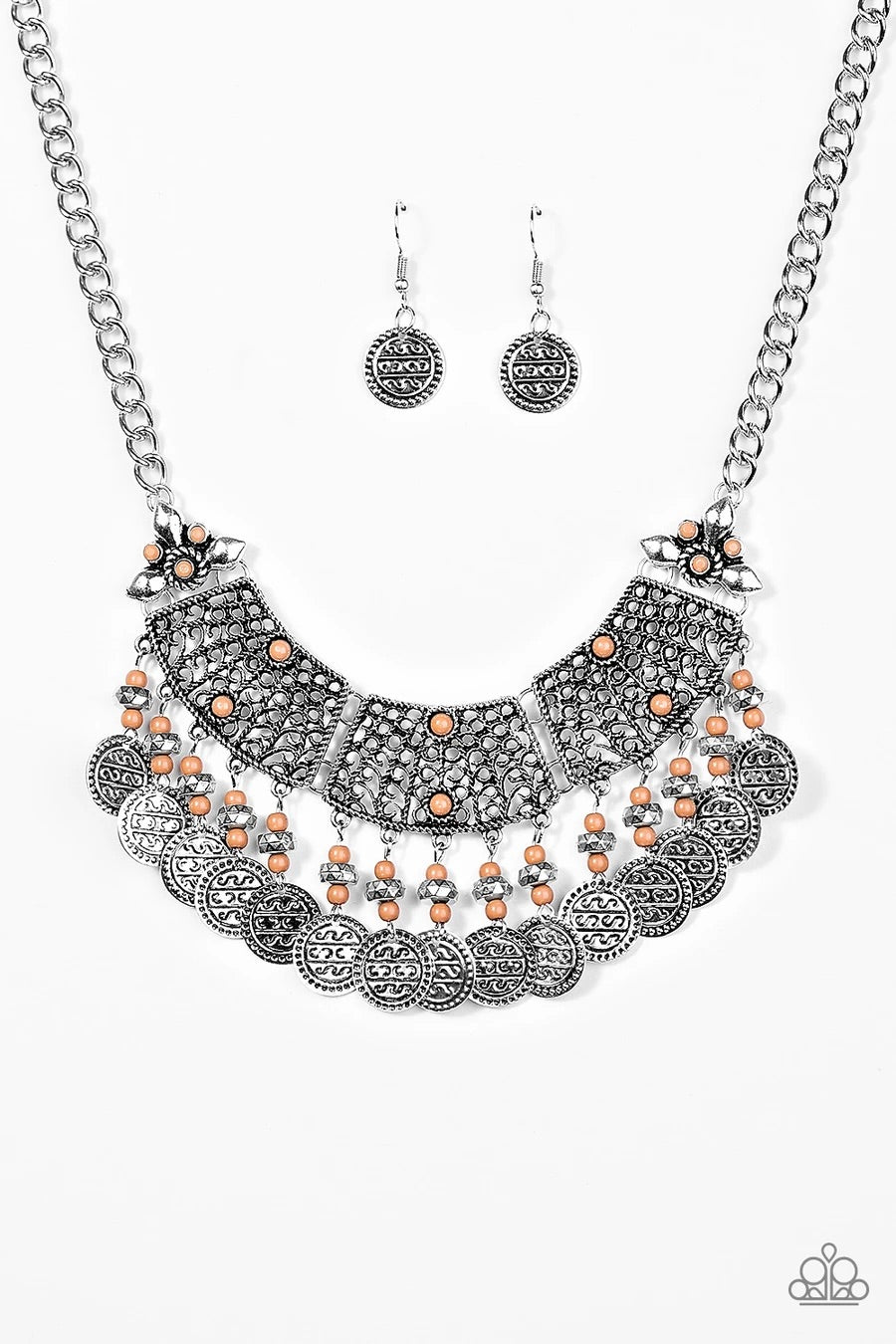I Am EMPRESS-ed - Brown Necklace - Paparazzi Accessories