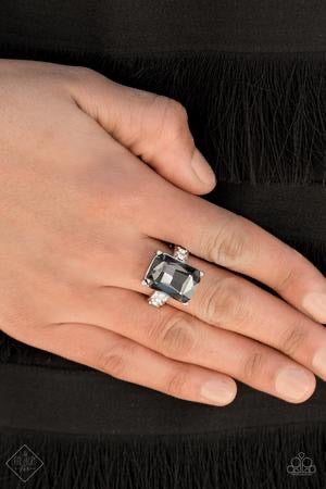 Bring Down the POWERHOUSE - Silver Ring - Paparazzi Accessories