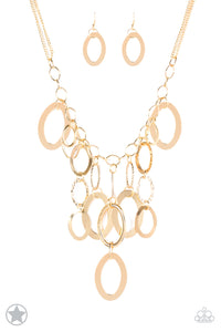 A Golden Spell - Good Necklace - Paparazzi Accessories