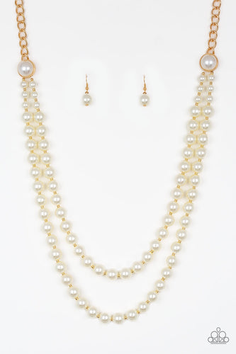 Paparazzi Endless Elegance Necklace-Gold