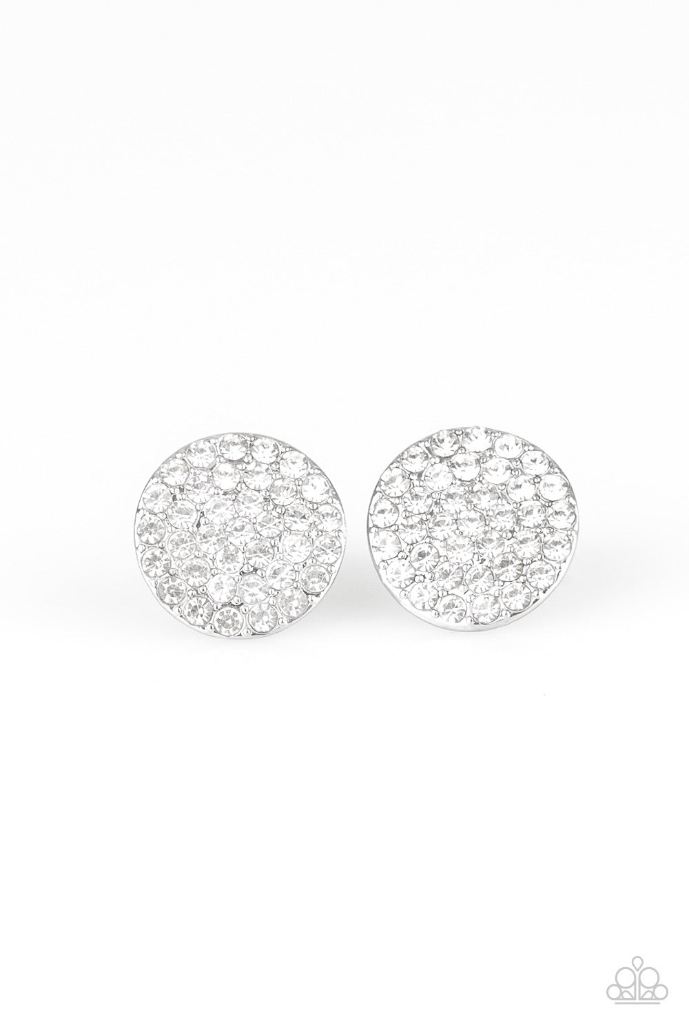 Paparazzi Greatest of All Time Earrings - White