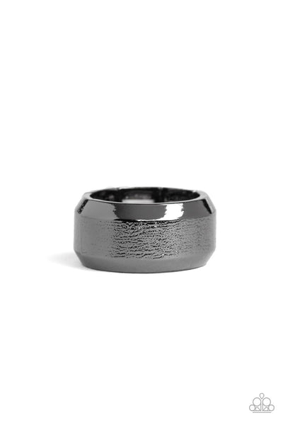 Paparazzi Checkmate Men's Ring-Black