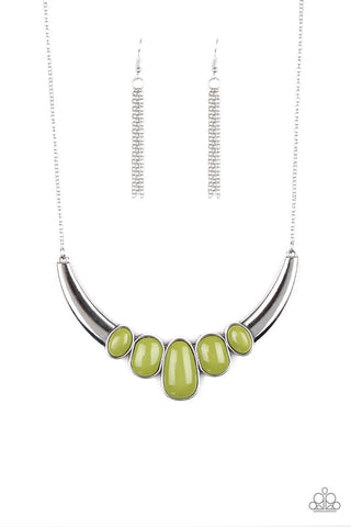 Paparazzi A Bull House Necklace-Green