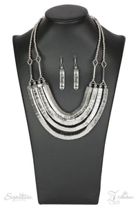 The Heidi - Silver Necklace - Paparazzi Accessories
