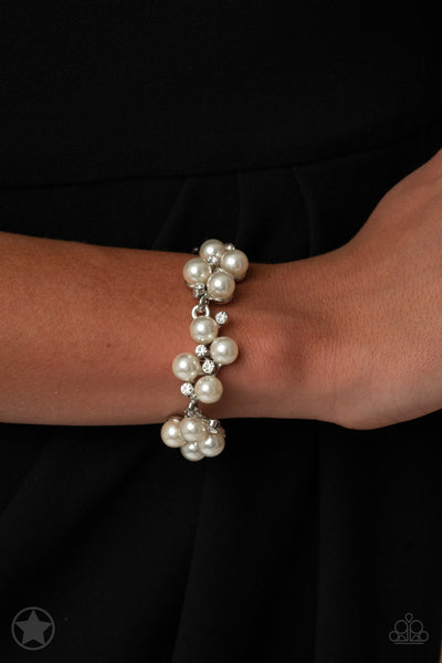 I DO - White Bracelet - Paparazzi Accessories