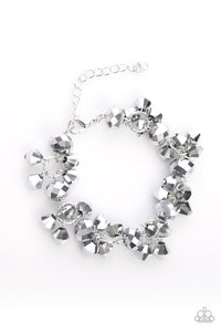 Stop and STAR - Silver Bracelet - Paparazzi Accessories