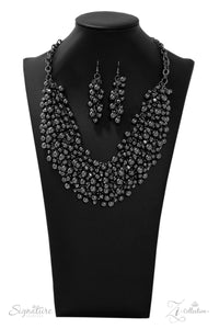 The Kellyshea - Gunmetal Bead Necklace - Paparazzi Accessories