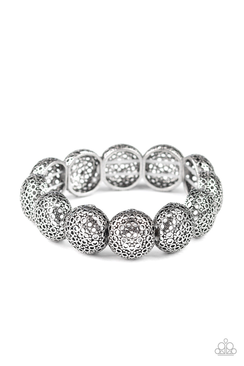 Obviously Ornate - Silver Bracelet - Paparazzi Accessories