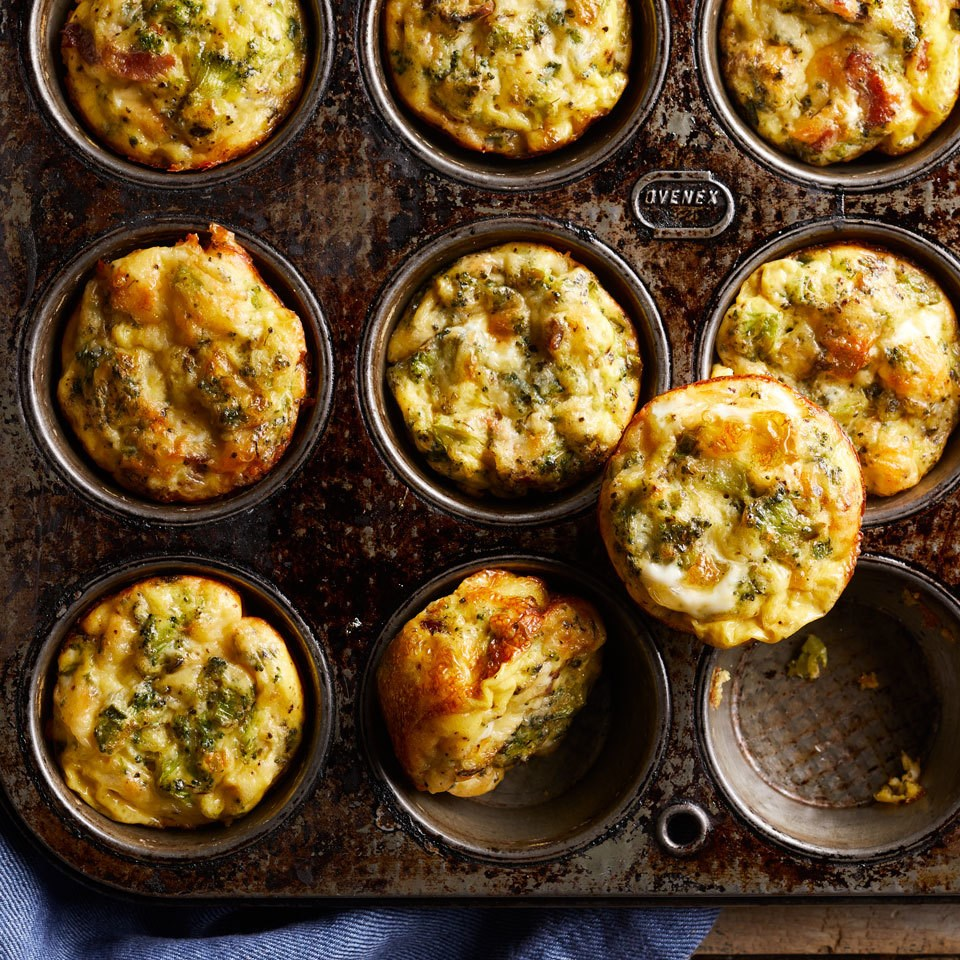 Low Carb Easy Loaded Omelette Muffins