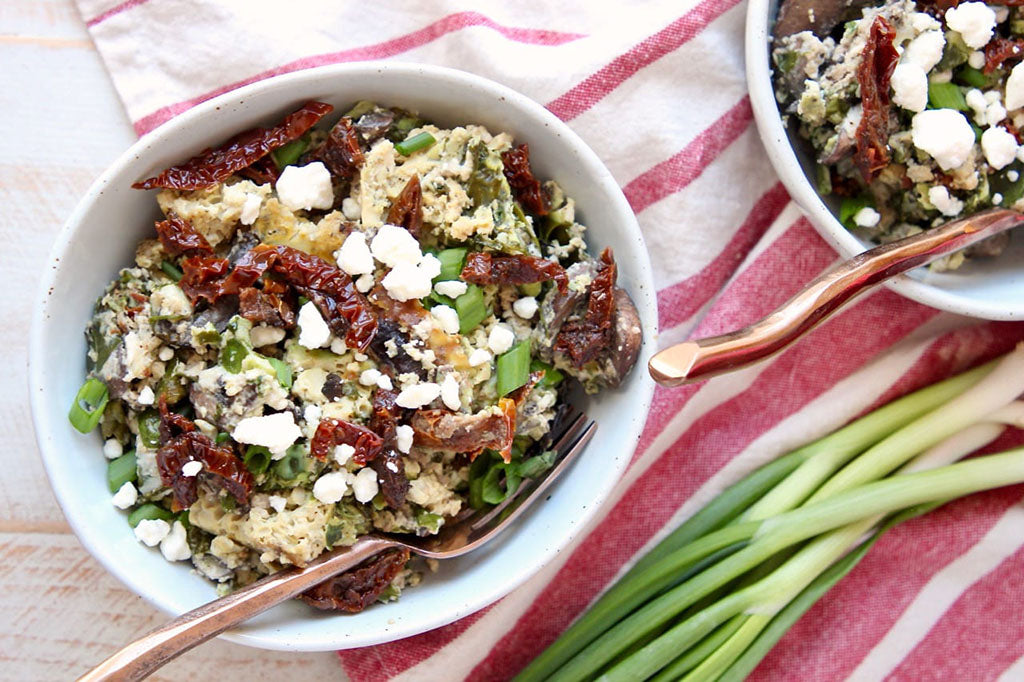 Breakfast for a Crowd: Greek Crock-Pot Casserole