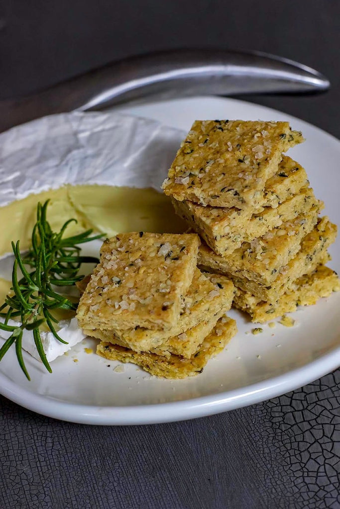 Easy Keto Snack Idea: Low Carb Crackers