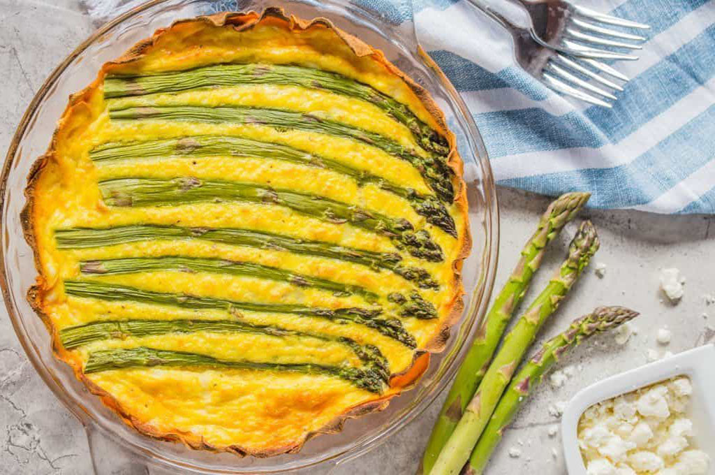 Breakfast for a Crowd: Asparagus Quiche