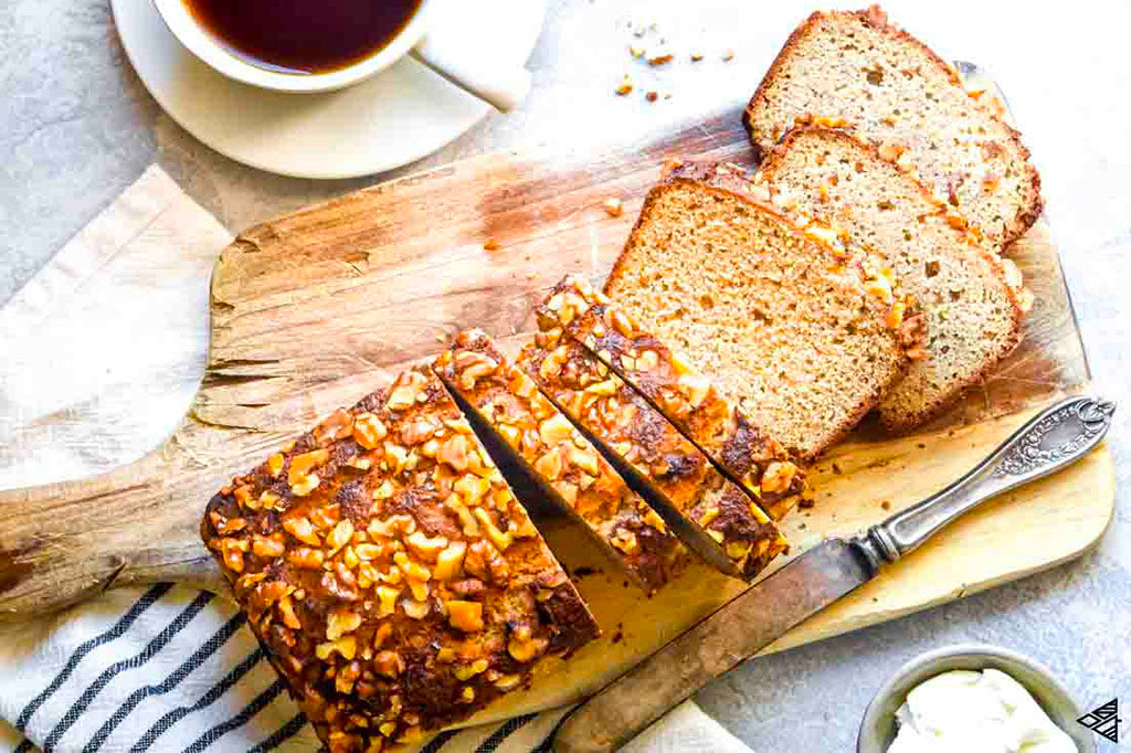 Breakfast for a Crowd: Low-Carb Banana Bread