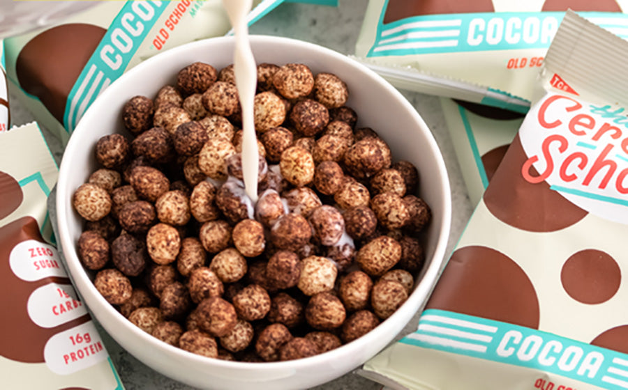 The Cereal School: Healthy chocolate cereal