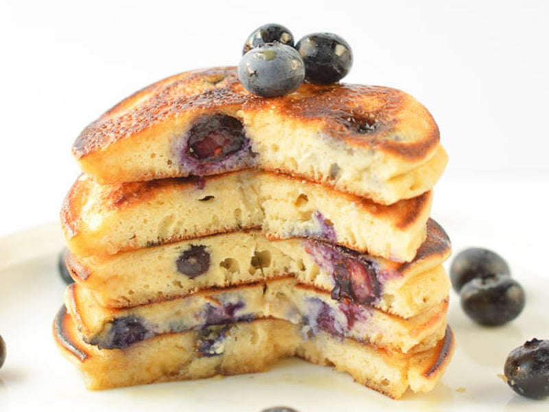 Diabetic breakfast pancakes