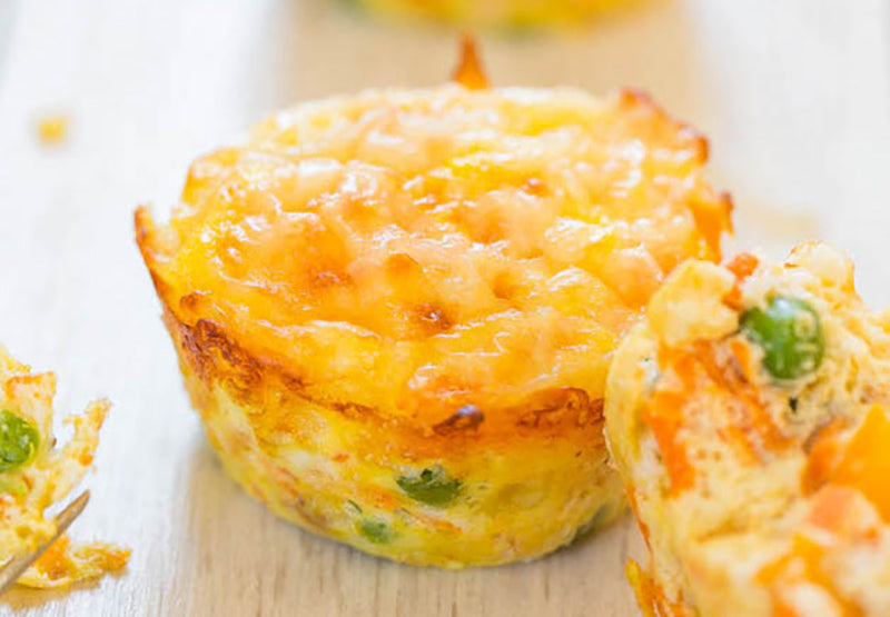 100-calorie meals: egg muffins