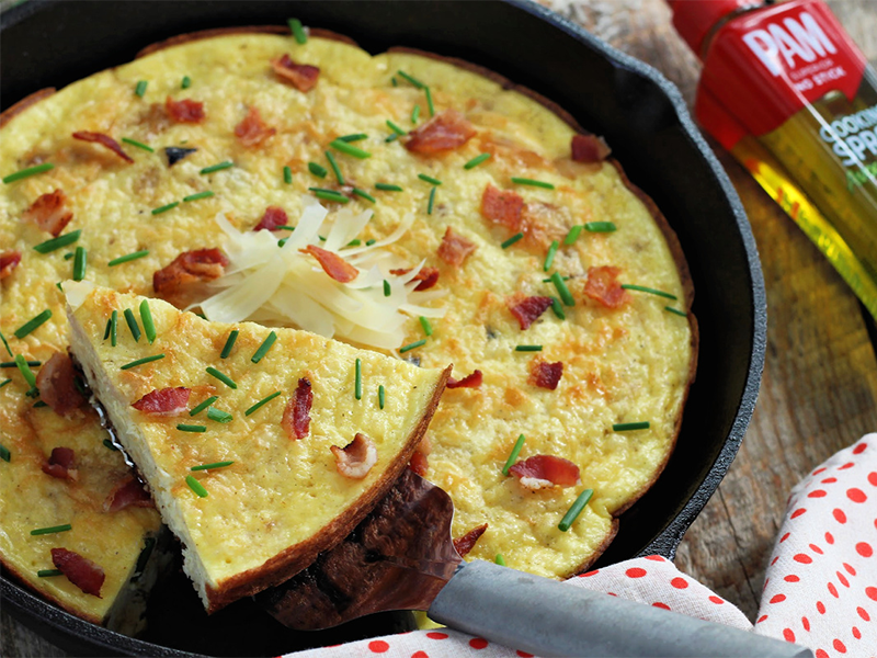 High-Protein Low-Carb Breakfast Frittata