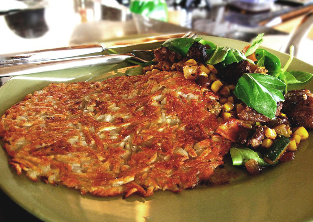 Breakfast for a Crowd: Celeriac Hash Browns