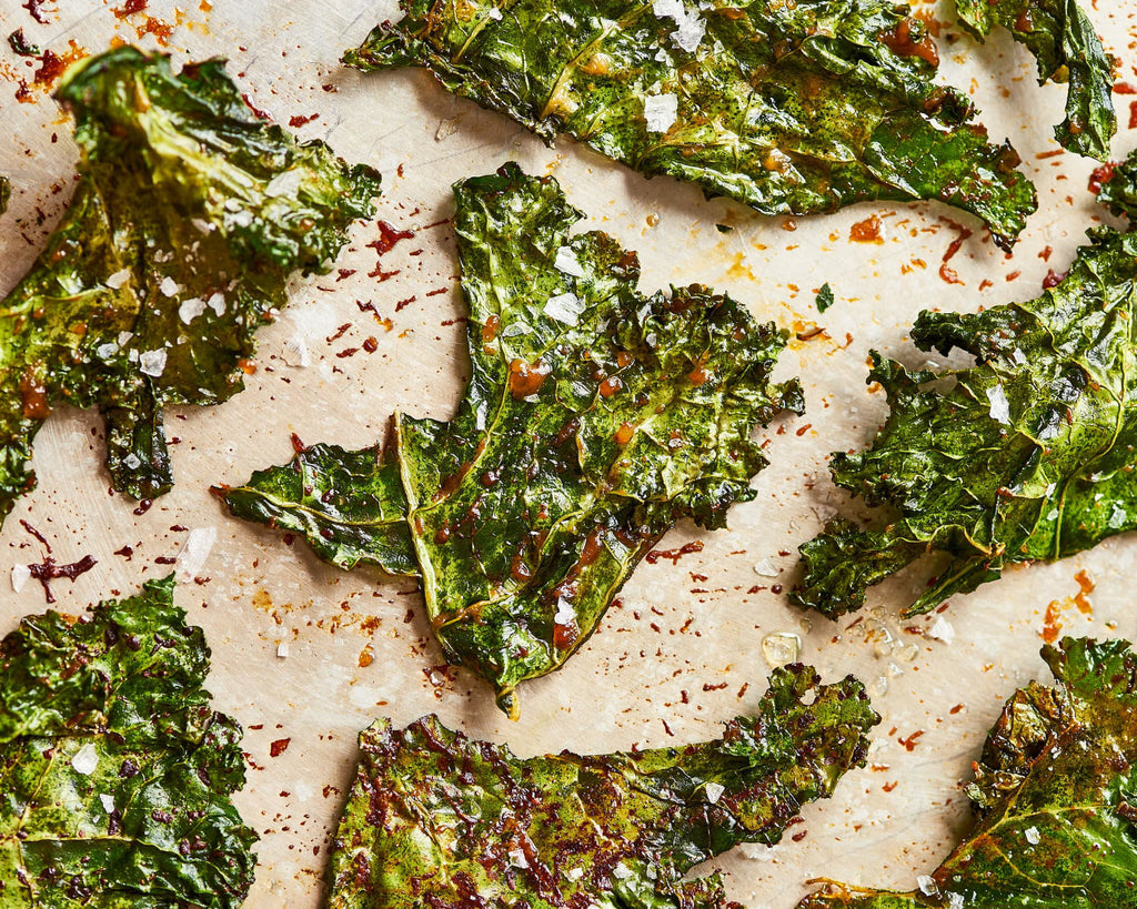 Kale chips: Low carb snacks on the go