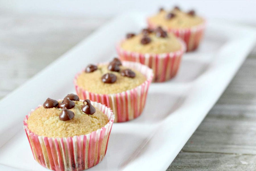 Easy Keto Snack Idea: Chocolate Chip Low Carb Muffins