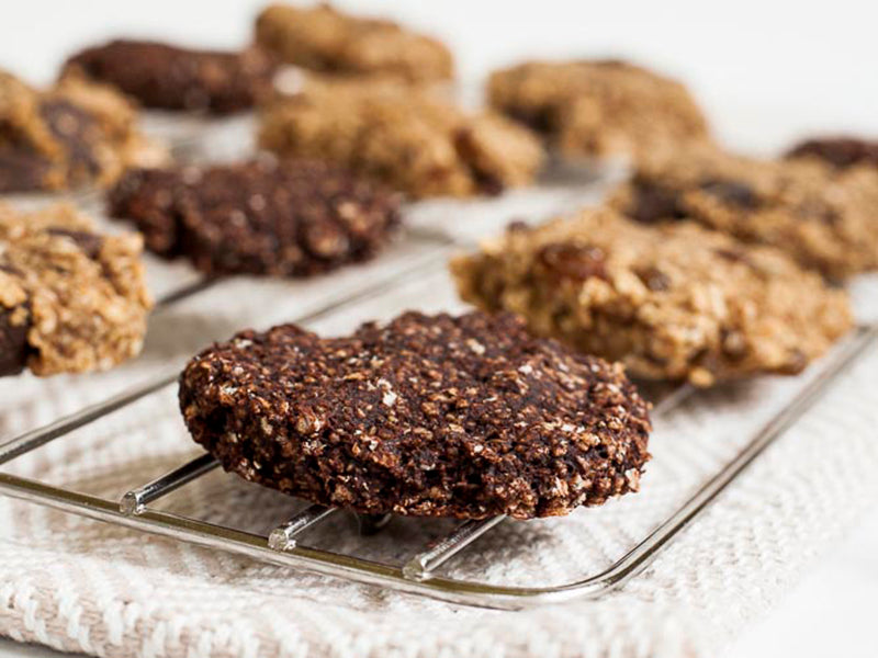 Low sugar desserts: oatmeal cookies