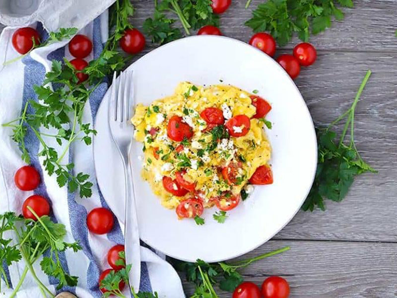 High-Protein Low-Carb Breakfast Omelet