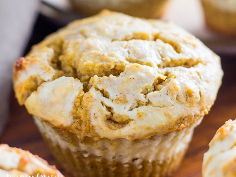 Keto breakfast no eggs - pumpkin muffins