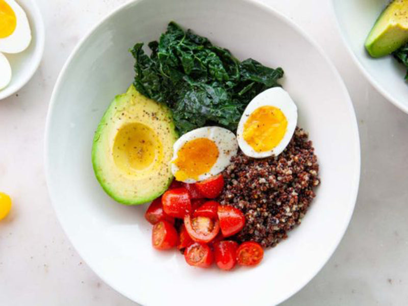High-Protein Low-Carb Breakfast Bowl