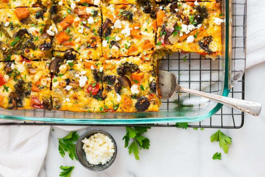 Breakfast for a Crowd: Vegetarian Casserole