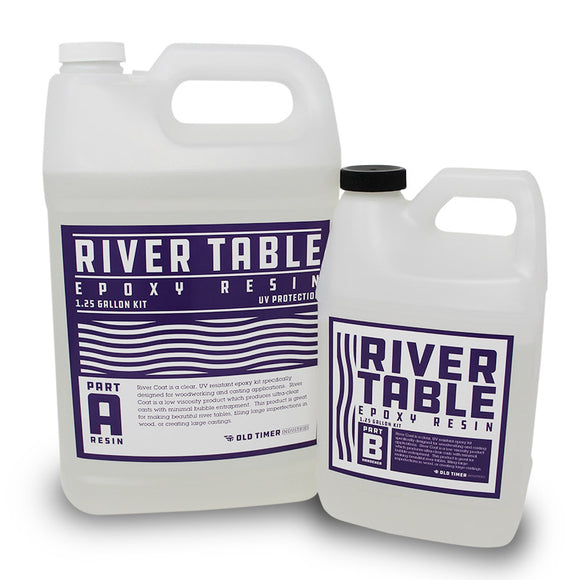 River Table Epoxy Resin, UV Safe & Good for 2
