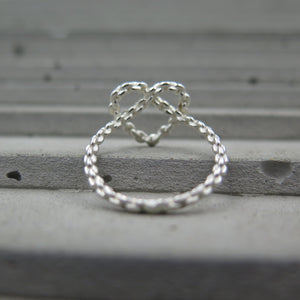 Chain Heart Ring