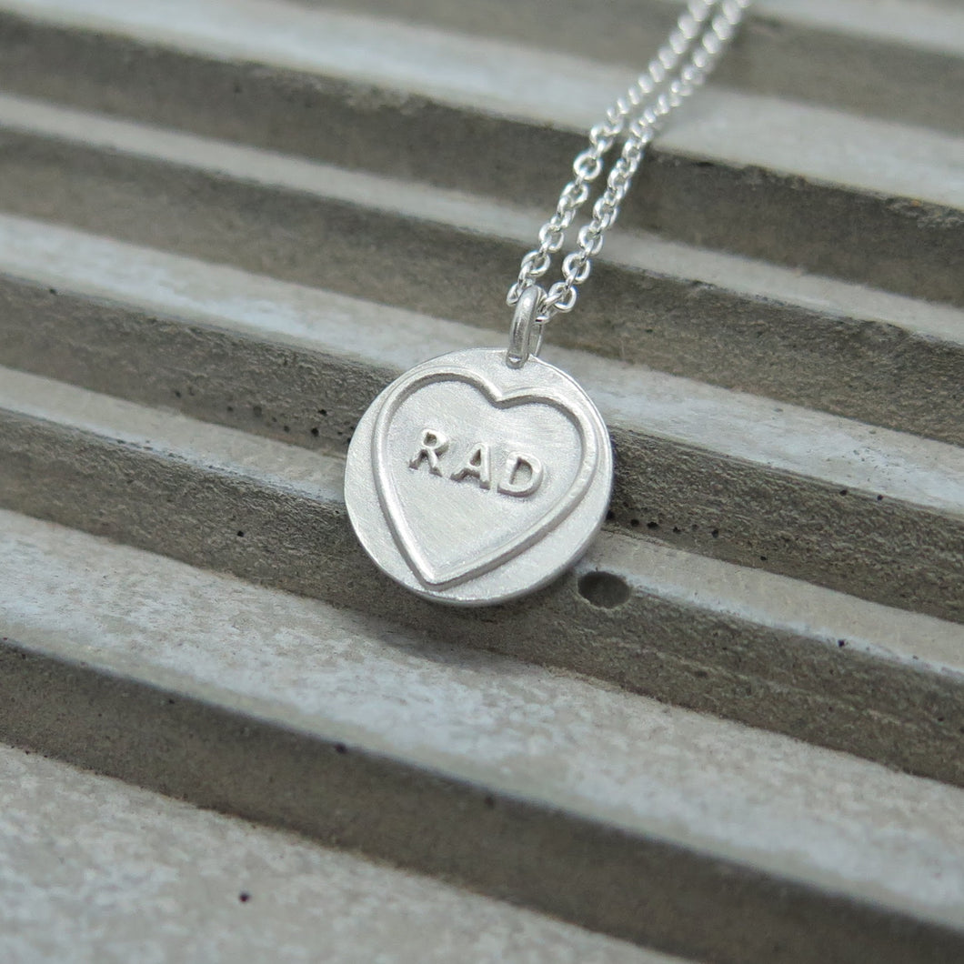 Rad (mini) Candy Heart
