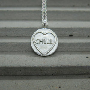 Chill (mini) Candy Heart