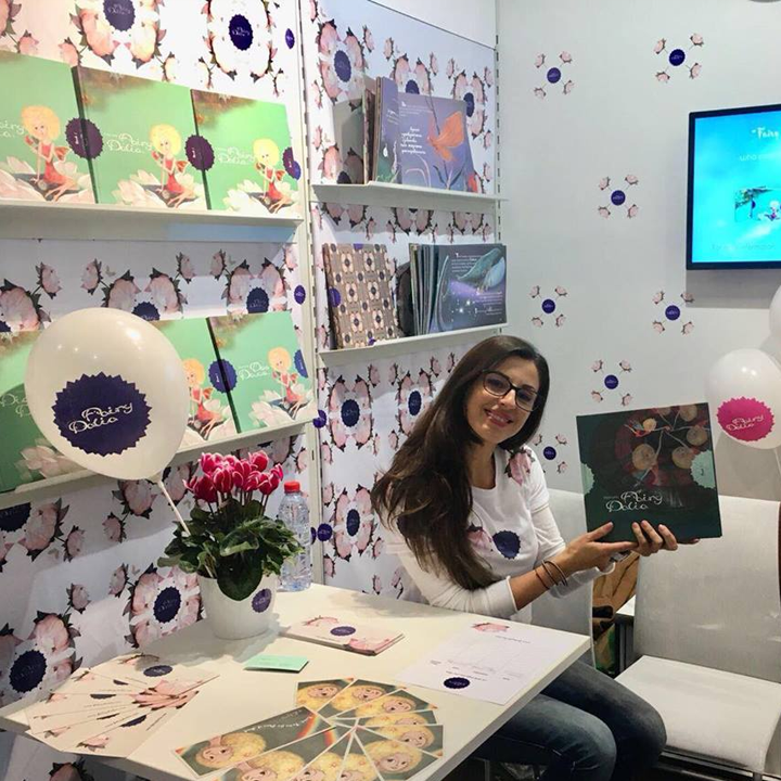 Fairy Dalia at 2017 Frankfurt Book Fair