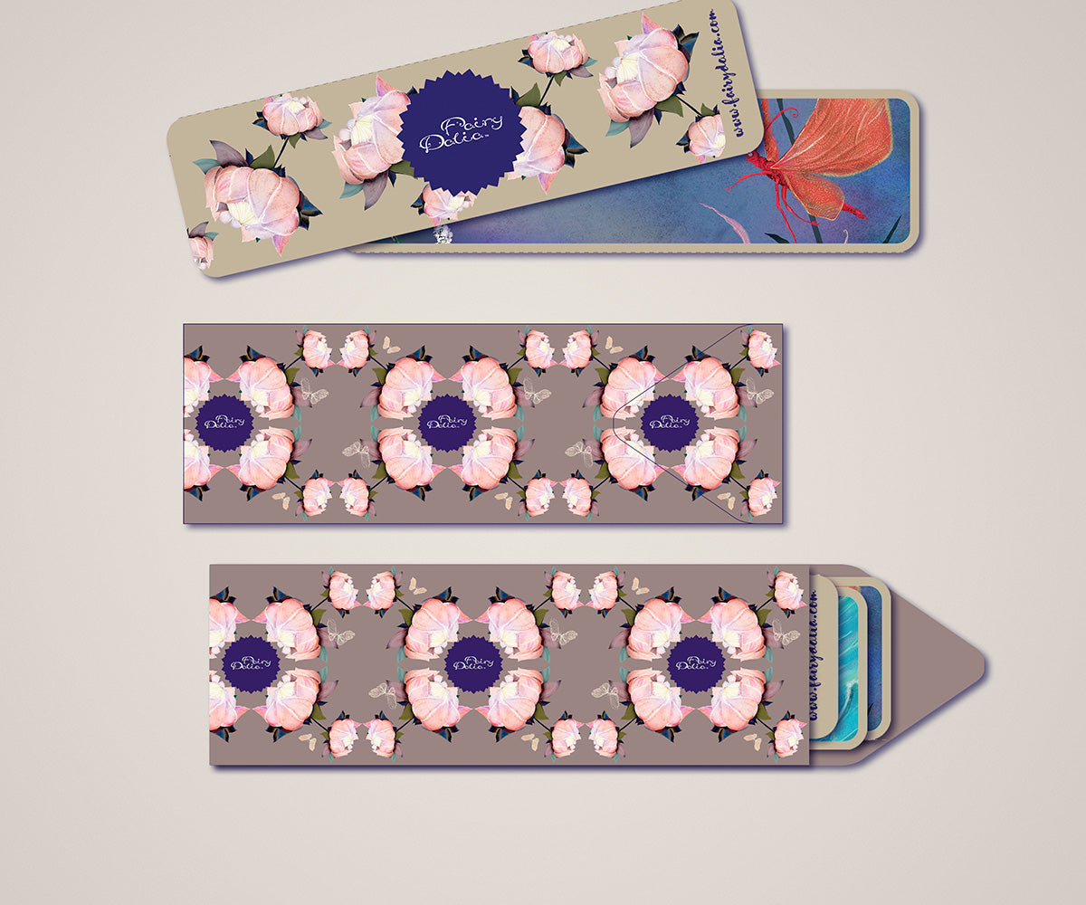 """Fairy Dalia"" Bookmarks"