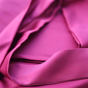 SILVER GREY ADULT SATIN DOEK
