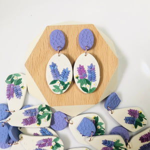 Lavender dangle