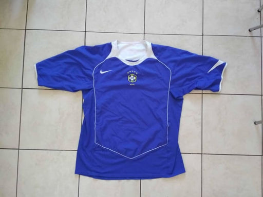 2004/05 Brazil Away Shirt - Size M - Jerseys
