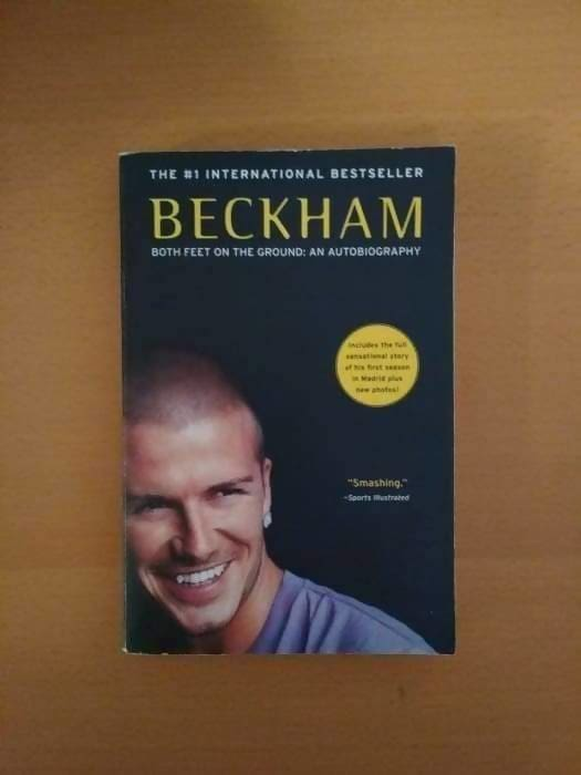 David Beckham: Both Feet On The Ground Autobiography - Memorabilia
