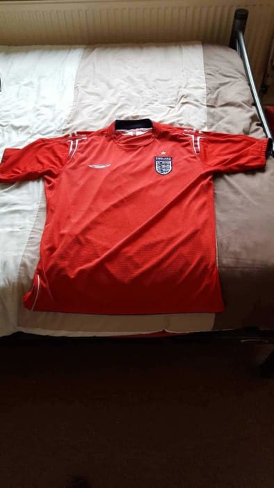 England football shirt away 2004 - 2006 Used - Jerseys
