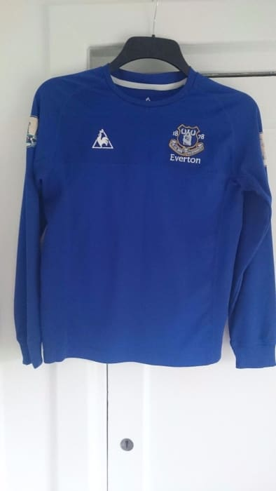 Everton football shirt Childrens XL - Apparel