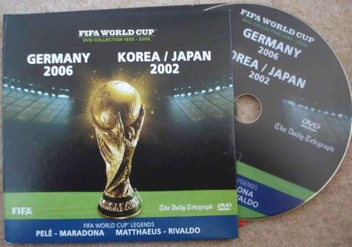 FIFA World Cup DVD - The Stories of Germany 2006 and Korea / Japan 2002 - Memorabilia