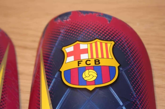 Nike Mercurial Lite FCB Barcelona FC Shinpads - Equipment