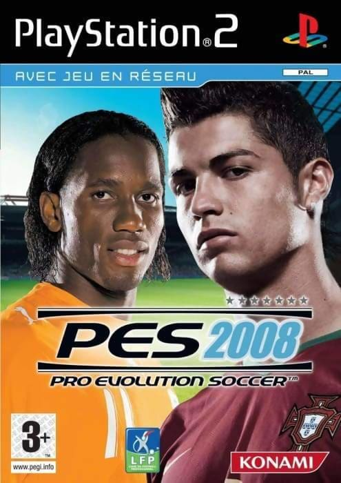 Pro Evolution Soccer 2008 (Sony PlayStation 2 2007) - European Version - Memorabilia