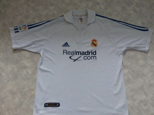 Real Madrid Home Shirt La Liga 2001/02 Very Good Condition Size Large - Jerseys