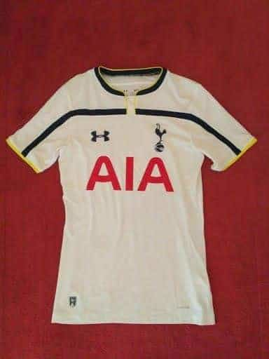 Used Tottenham Hotspur 2014/15 Home Shirt Adults Small - Jerseys