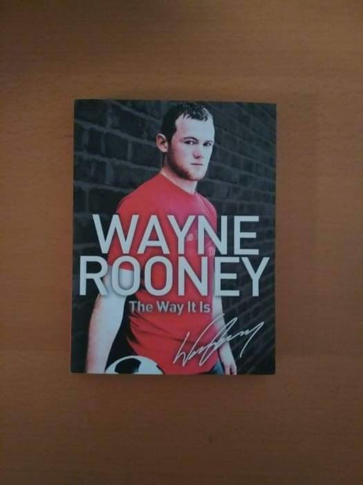 Wayne Rooney: The Way It Is - Memorabilia