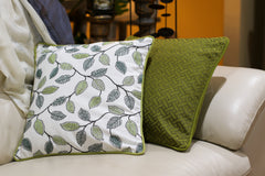Pillow Cover - Set of two Green